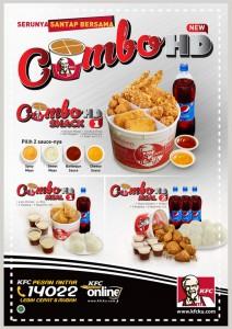 Harga dan Menu ComboHD KFC 2015