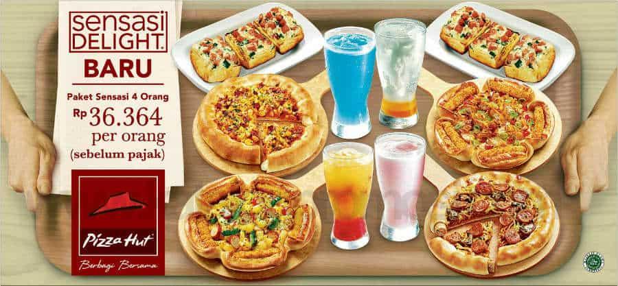 harga dan menu sensasi delight pizza hut februari 2018