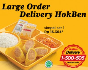 Harga dan Menu Hokben Delivery