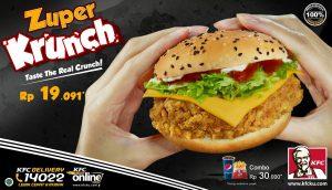 Harga KFC Zuper Krunch