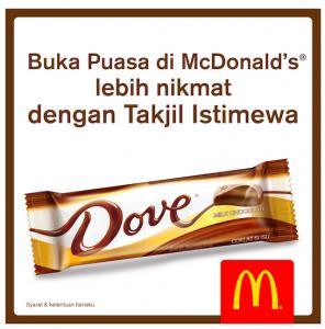Takjil Gratis Buka Puasa di McDonald Indonesia