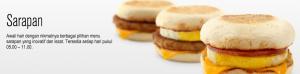 Daftar Harga dan Menu Breakfast McD