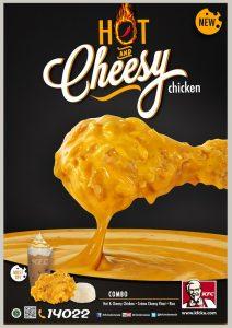 Harga Menu KFC Terbaru Hot and Cheesy Chicken