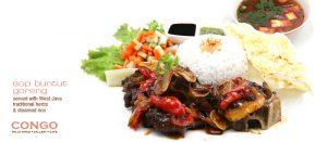 Harga Menu Congo Cafe Bandung