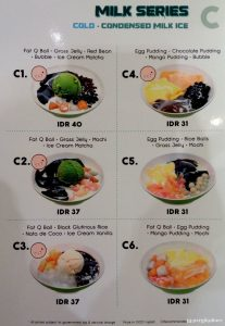 Harga Menu Fat Bubble