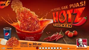 Harga Menu Hotz Chicken KFC