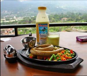 harga menu cimory mountain view