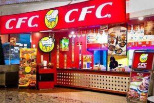harga menu CFC terbaru