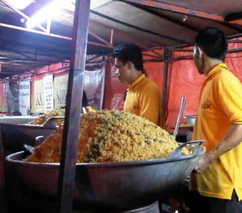 Harga Menu Nasi Goreng Kebon Sirih