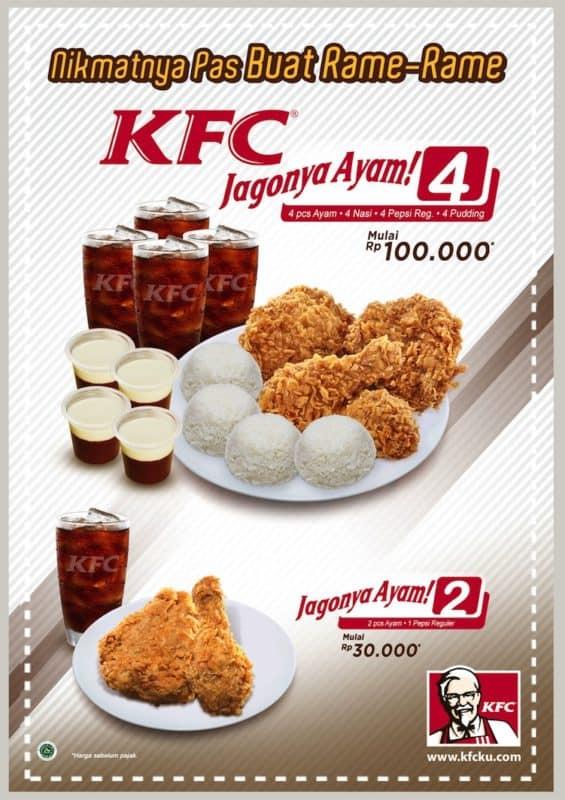 Promo Kfc Terbaru Menu Super Mantap Dan Jagonya Ayam