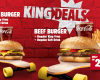 Burger King Indonesia Delivery Menu dan Harga