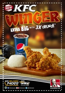 Paket KFC Winger Extra Big