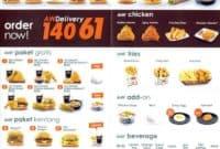 Harga Menu A&W delivery