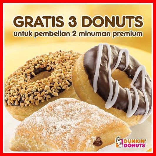 harga dunkin donuts dan promo dunkin donuts terbaru