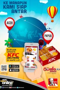 Cara Pesan KFC Delivery via Aplikasi Home Delivery