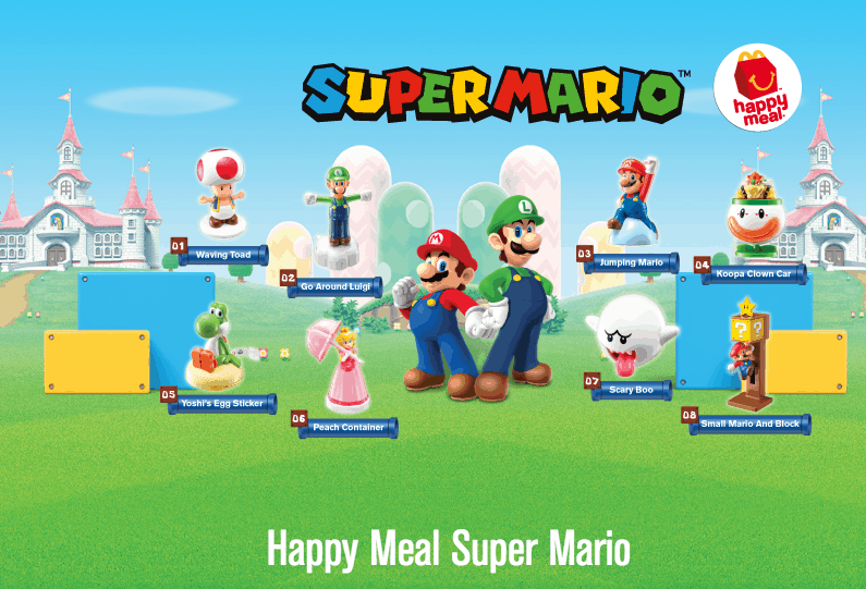 Happy Meal McD Super Mario