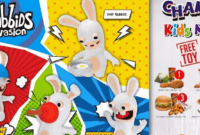 Chaki Meal KFC November 2016 Edisi Rabbids Invasion