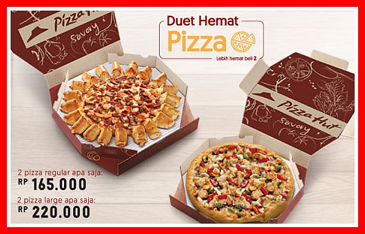 promo Pizza Hut Indonesia Duet Hemat Pizza