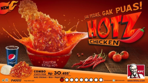 Harga Menu Hotz Chicken KFC