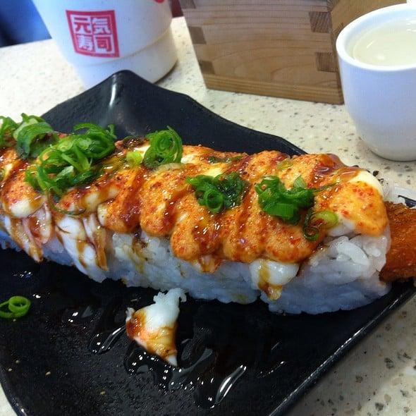 Harga Menu genki sushi terbaru