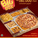 PIZZA HUT Promo Paket Big Box