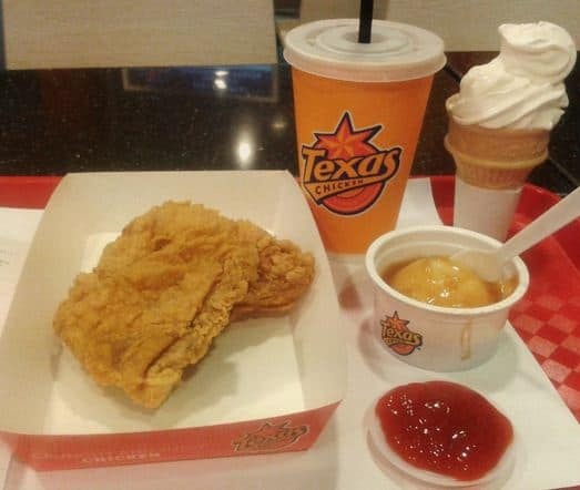 Harga Texas Chicken