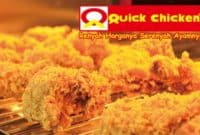 harga menu quick chicken