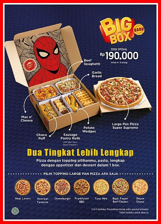 pizza big box