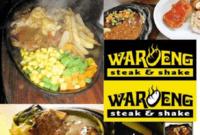 Harga Menu Waroeng Steak Bintaro Desember 2018