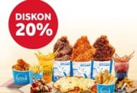 Promo Hot Star Diskon 20% dengan Telkomsel Tcash