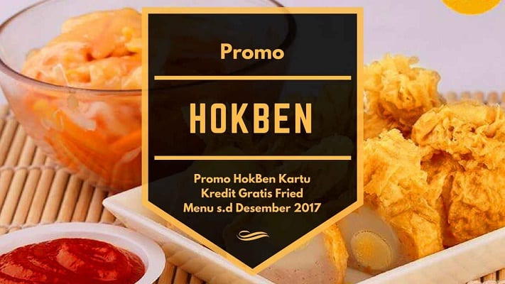 Promo Menu Hokben Kartu Kredit Gratis Fried
