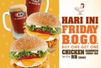 AW Promo Jumat Special Chicken Sandwich with Sunny Egg and RB