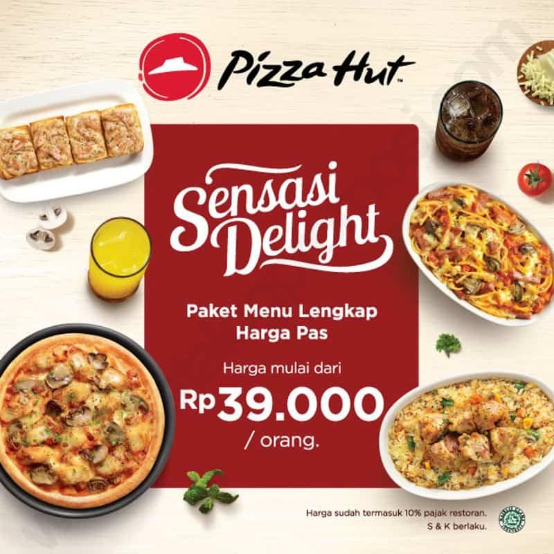 Menu Paket Hemat Di Pizza Hut Sensasi Delight Rp 39 000