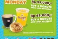Paket Dunkin Donuts mulai dari Rp 59.000 dengan DD Card DD Card
