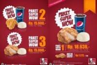 Dapatkan Harga Paket Hemat KFC Terbaru di 2018