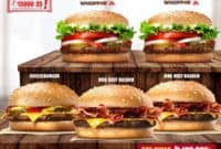 Paket Hemat Burger King Deal of the Month Khusus Delivery