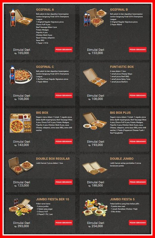 Promo Pizza Hut Terbaru