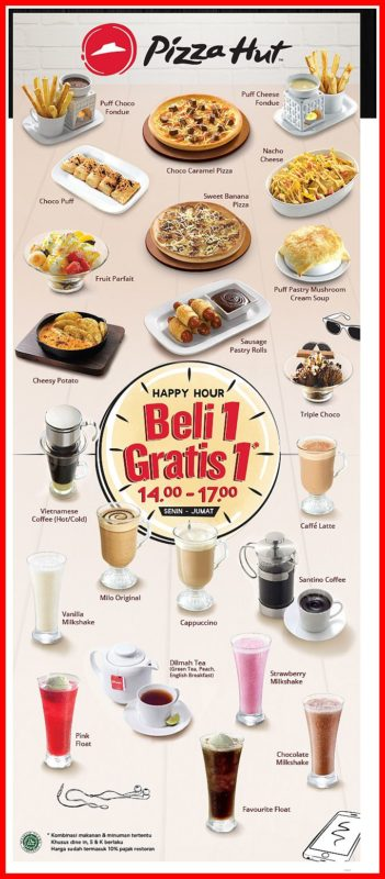 Promo Pizza Hut Indonesia Terbaru November 2019 Harga Menu