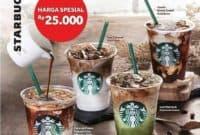 Promo Starbucks Hari Ini Harga Spesial Rp. 25.000 Menggunakan TCASH