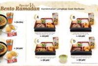 Menu Spesial Hokben Di Bulan Tahun Ramadhan 2018
