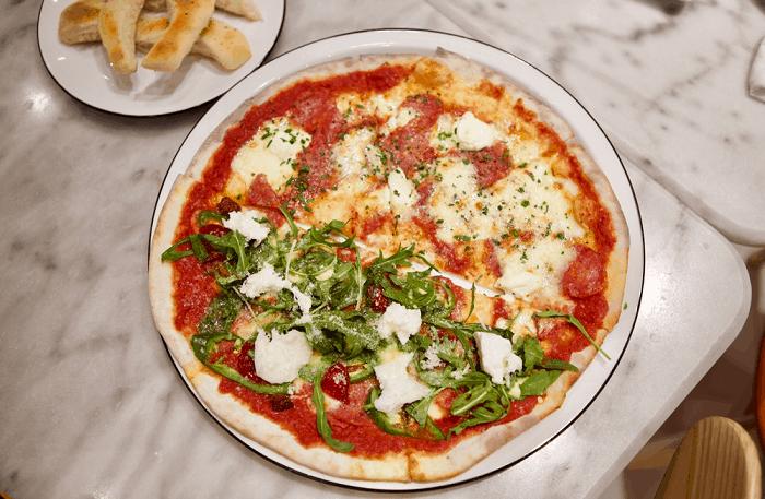 harga pizza marzano menu