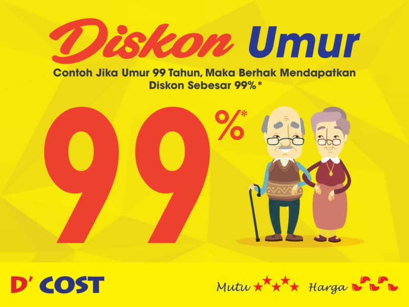 Promo Umur d cost seafood
