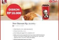 Diskon Promo KFC Terbaru