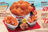 Inilah Daftar Harga KFC Bucket Terbaru Desember 2018