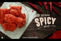 Harga Ayam Spicy McD Dengan Cita Rasa Pedas Nikmat