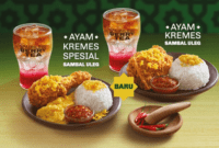 Harga Menu Baru McDonald Indonesia Terlengkap 2018
