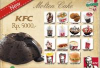 Harga Menu KFC Goceng Terbaru dan Terlengkap