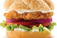 colonel burger kfc harga menu