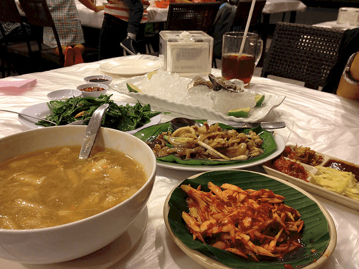 menu layar seafood surabaya