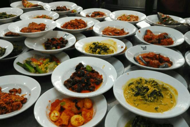 Harga Menu Restoran Padang Sederhana